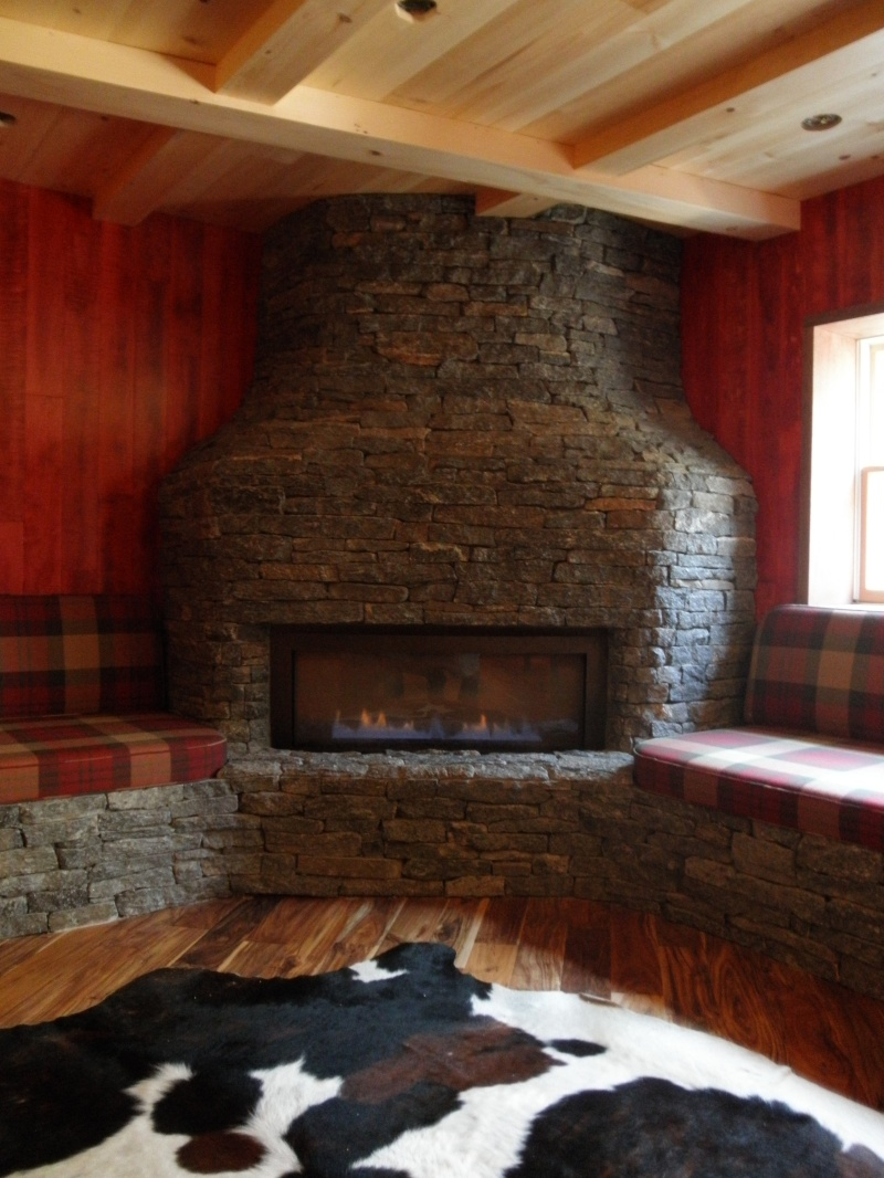Download How To Build A Stone Fireplace Mantel And ...