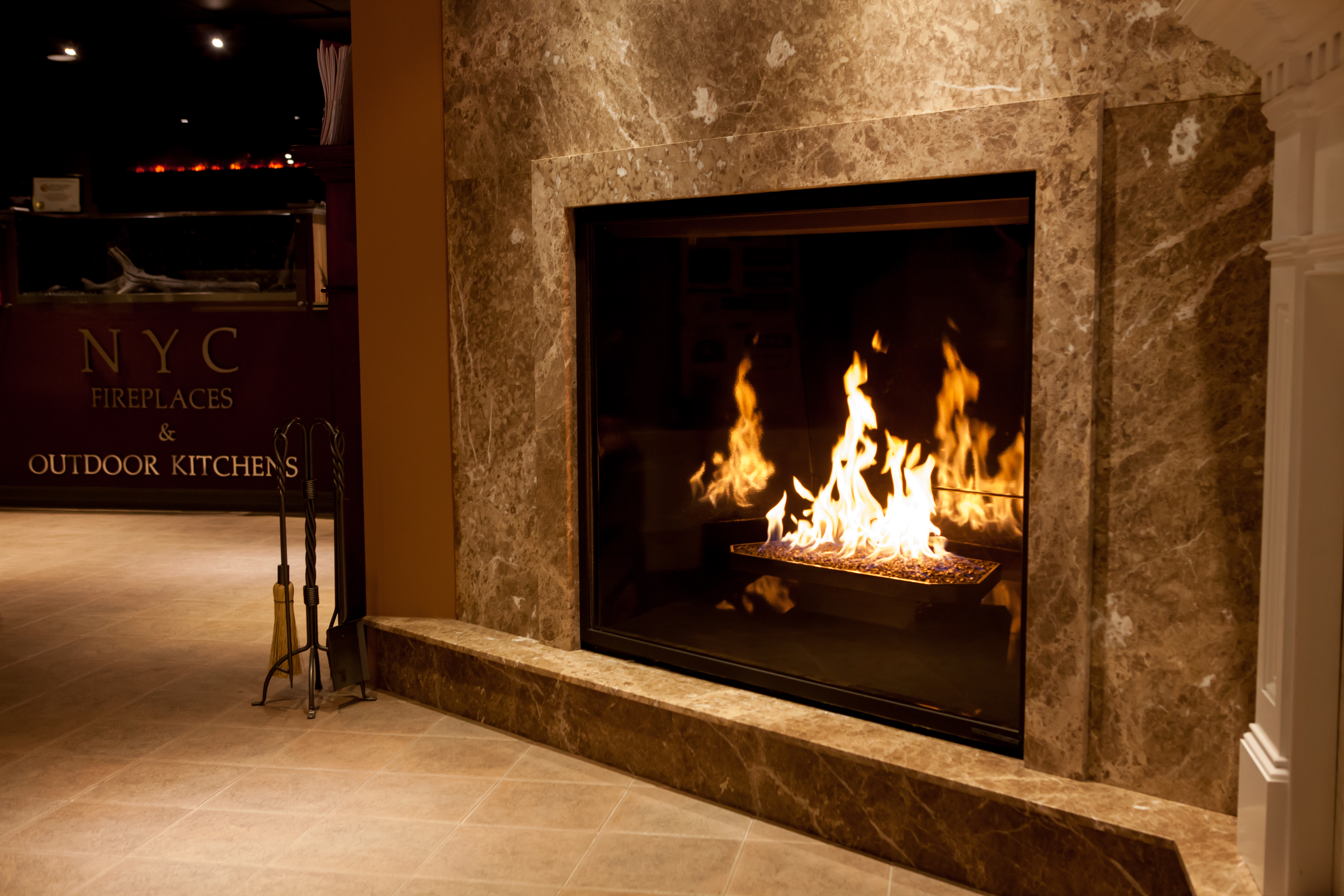 gas electric and wood fireplaces nyc fireplaces outdoor kitchens